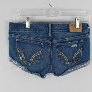 Hollister denim rolled hem shorts SZ: 0